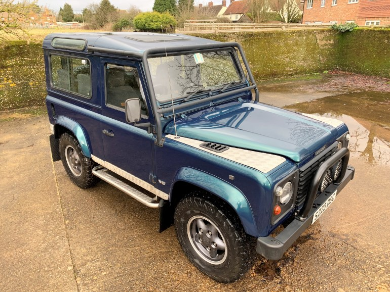 1998 LAND ROVER DEFENDER 90 50TH ANNIVERSARY 4.0V8 AUTO FOR SALE AT MOTODROME THE CLASSIC LAND ROVER SPECIALISTS