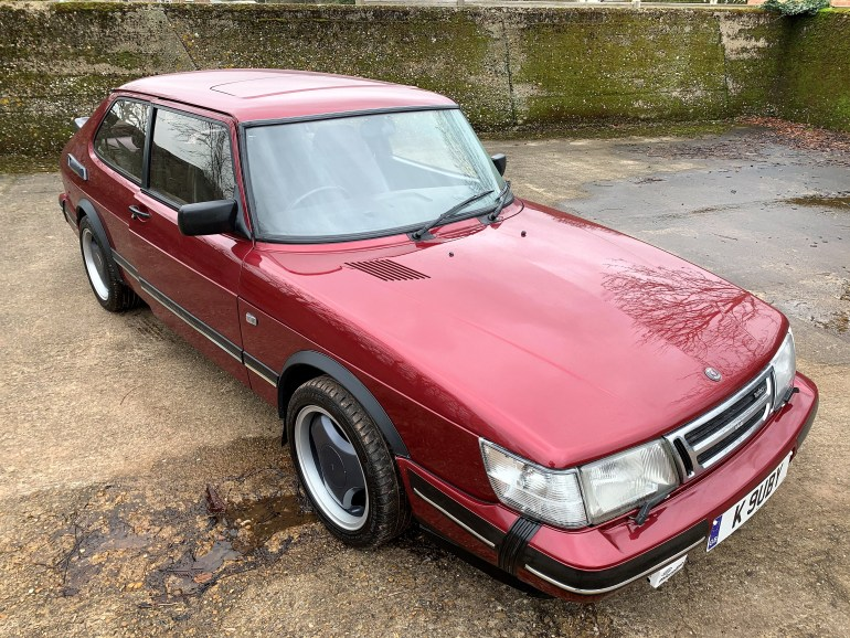 1993 SAAB 900 T16S RUBY EDITION 3-DOOR FOR SALE AT MOTODROME