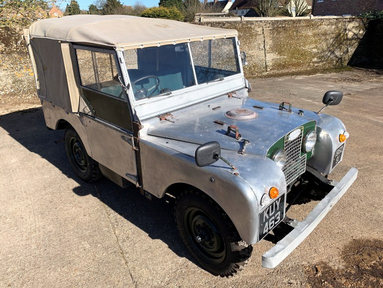 1952 LAND ROVER SERIES ONE 80IN FOR SALE AT MOTODROME THE CLASSIC LAND ROVER SPECIALISTS