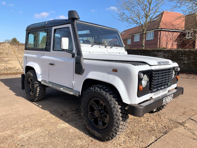 LAND ROVER DEFENDER 90 GALVANISED CHASSIS REBUILD TD5 POWER FOR SALE AT MOTODROME THE CLASSIC LAND ROVER SPECIALIST