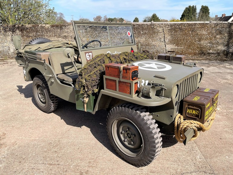 WW2 JEEP REPLICA FOR SALE AT MOTODROME