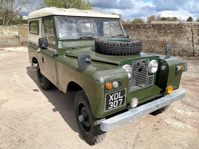 1961 LAND ROVERSERIES IIa 88in DIESEL FOR SALE AT MOTODROME THE CLASSIC LAND ROVER SPECIALIST
