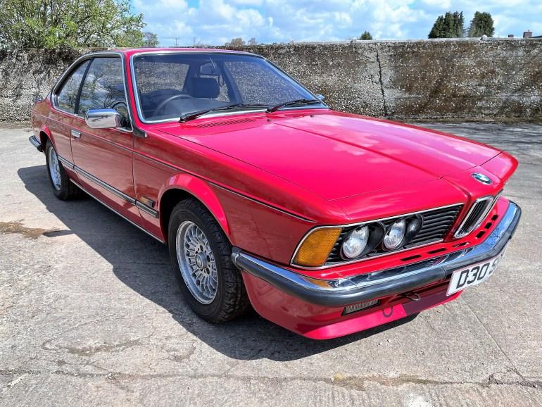1986 BMW 635CSi (E24) AUTO FOR SALE AT MOTODROME