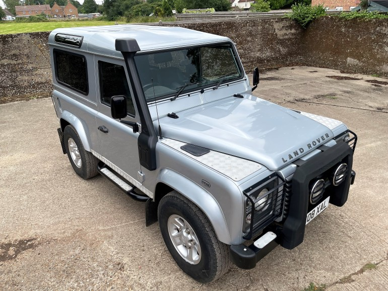 2008 LAND ROVER DEFENDER 90 TDCi XS STATION WAGON AUTOMATIC FOR SALE AT MOTODROME