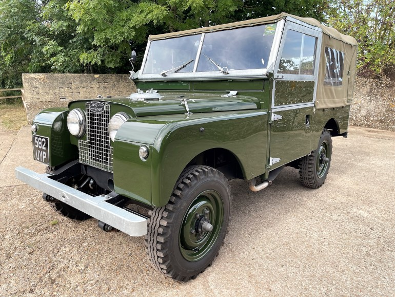 1958 Land Rover Series One 88in 2.0 soft top fully restored for sale at motodrome