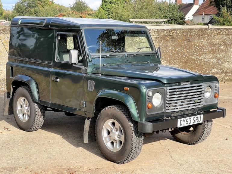 2003/53 Land Rover Defender 90 TD5 County Hardtop for sale at Motodrome