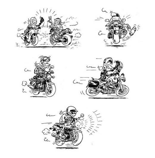 Préférence Le code des signes des motards | BI59