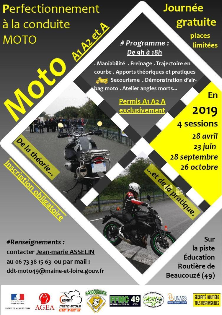 Les Journées Et Stages De Conduite De Sécurité Moto