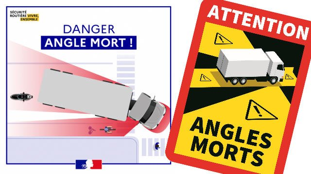 Danger camions carrefours