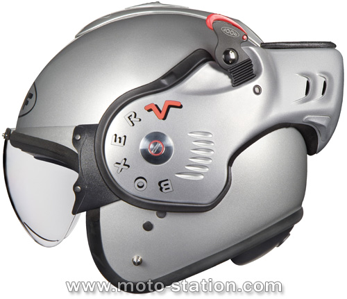 news 2007 casque modulable roof boxer