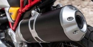 Moto Guzzi V85 TT - wydech