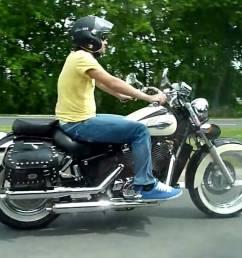 1995 honda vt1100 ace shadow moto zombdrive [ 1280 x 720 Pixel ]