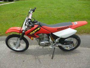2002 Honda XR80R  MotoZombDriveCOM