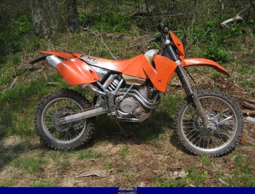 small resolution of ktm exc 400 2001 9