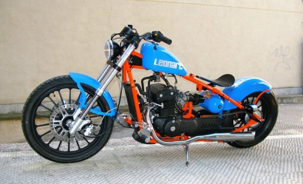 moto leonart bobber 125cc. Black Bedroom Furniture Sets. Home Design Ideas