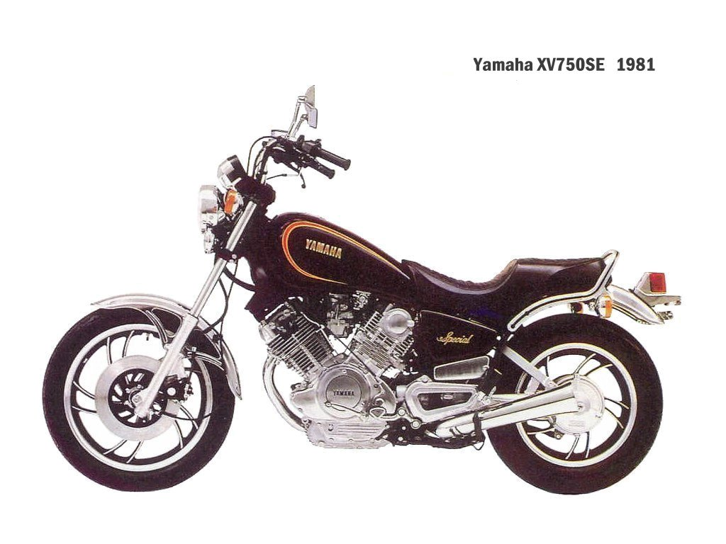 hight resolution of  yamaha xv 750 se 1