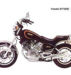 yamaha xv 750 se 1982 4 [ 1024 x 768 Pixel ]