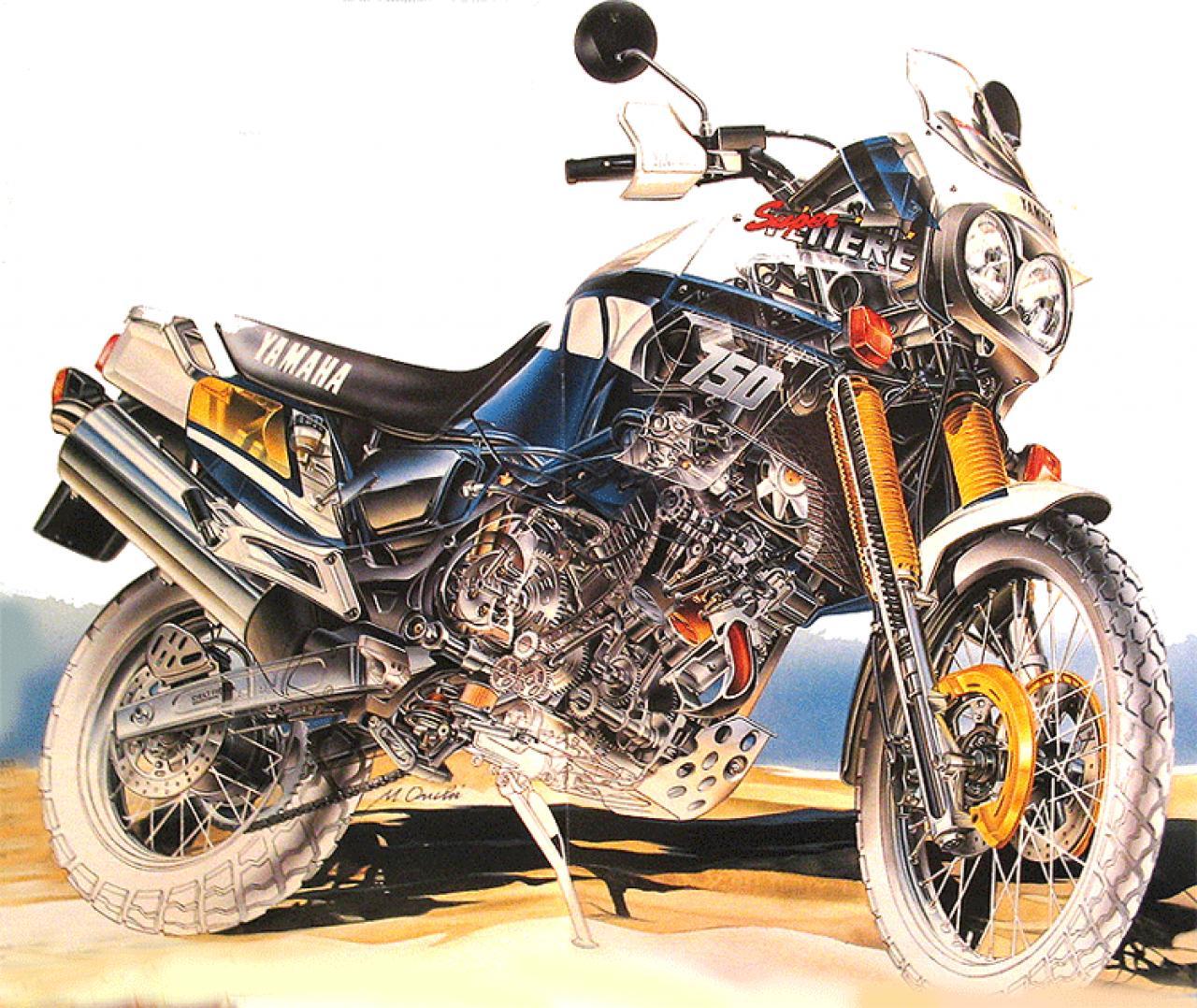Fuse Box Cartoon Yamaha Yamaha Xt Z 750 Super Tenere Moto Zombdrive Com