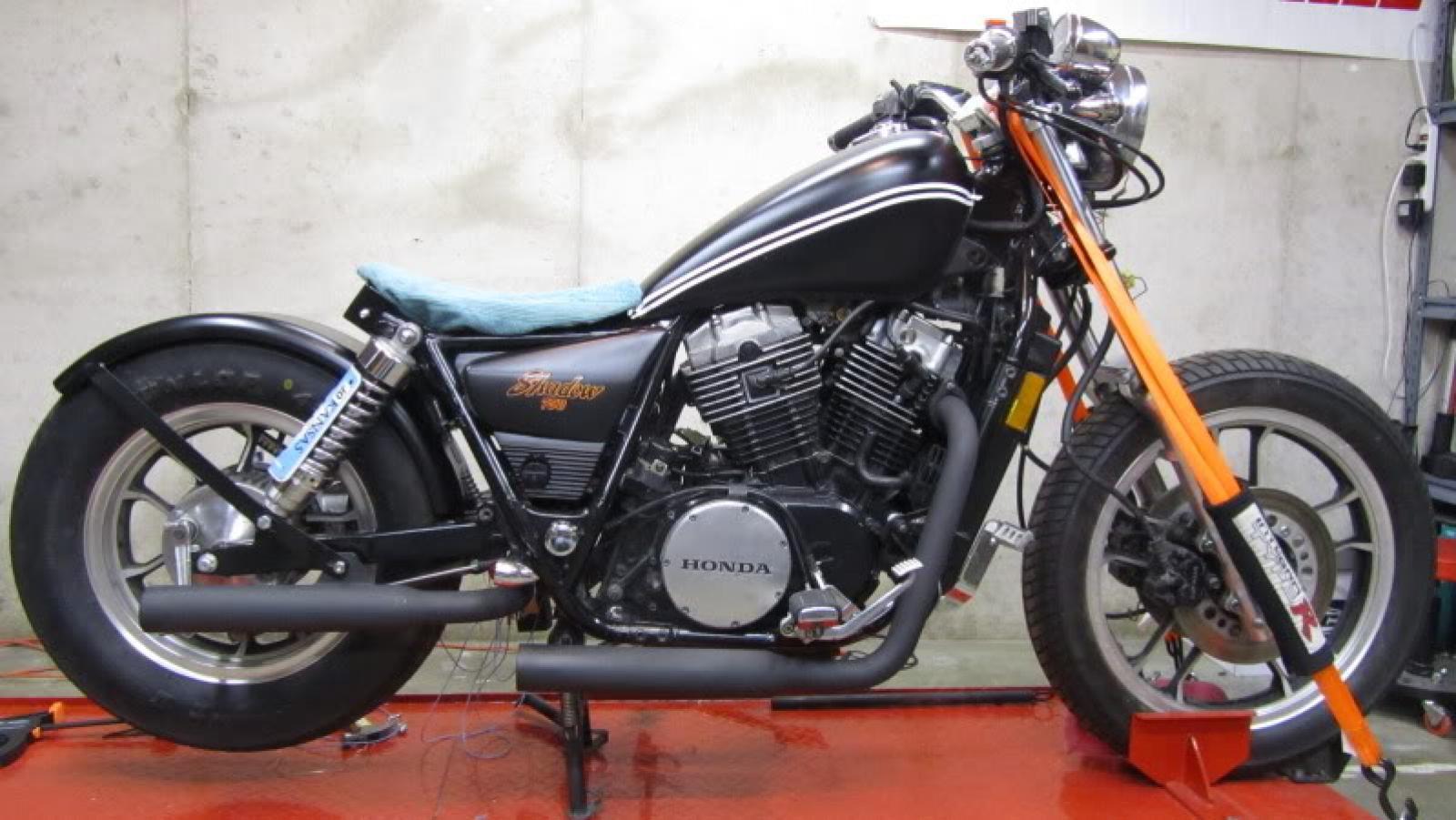 1983 Honda Shadow Vt750 Parts