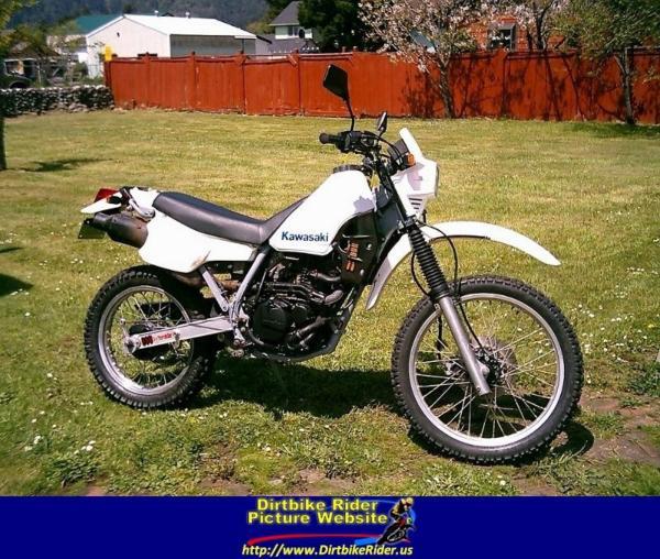 1985 Kawasaki Klr250