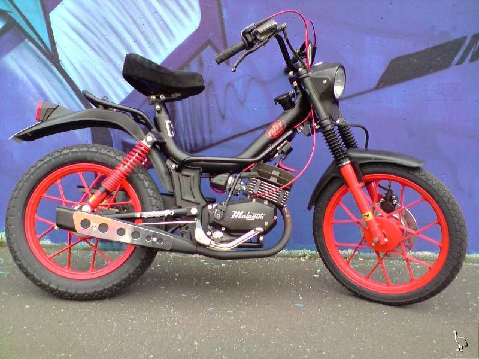 1991 Malaguti Fifty HF Mix 50 - Moto.ZombDrive.COM