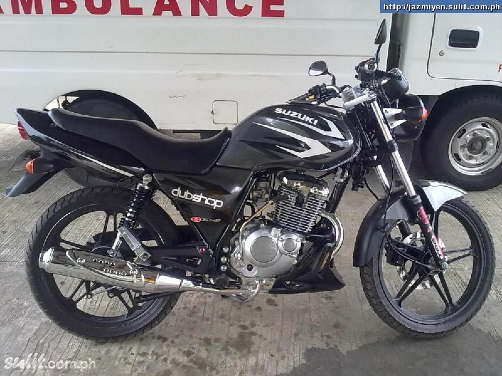 2014 Suzuki Thunder 125  MotoZombDriveCOM