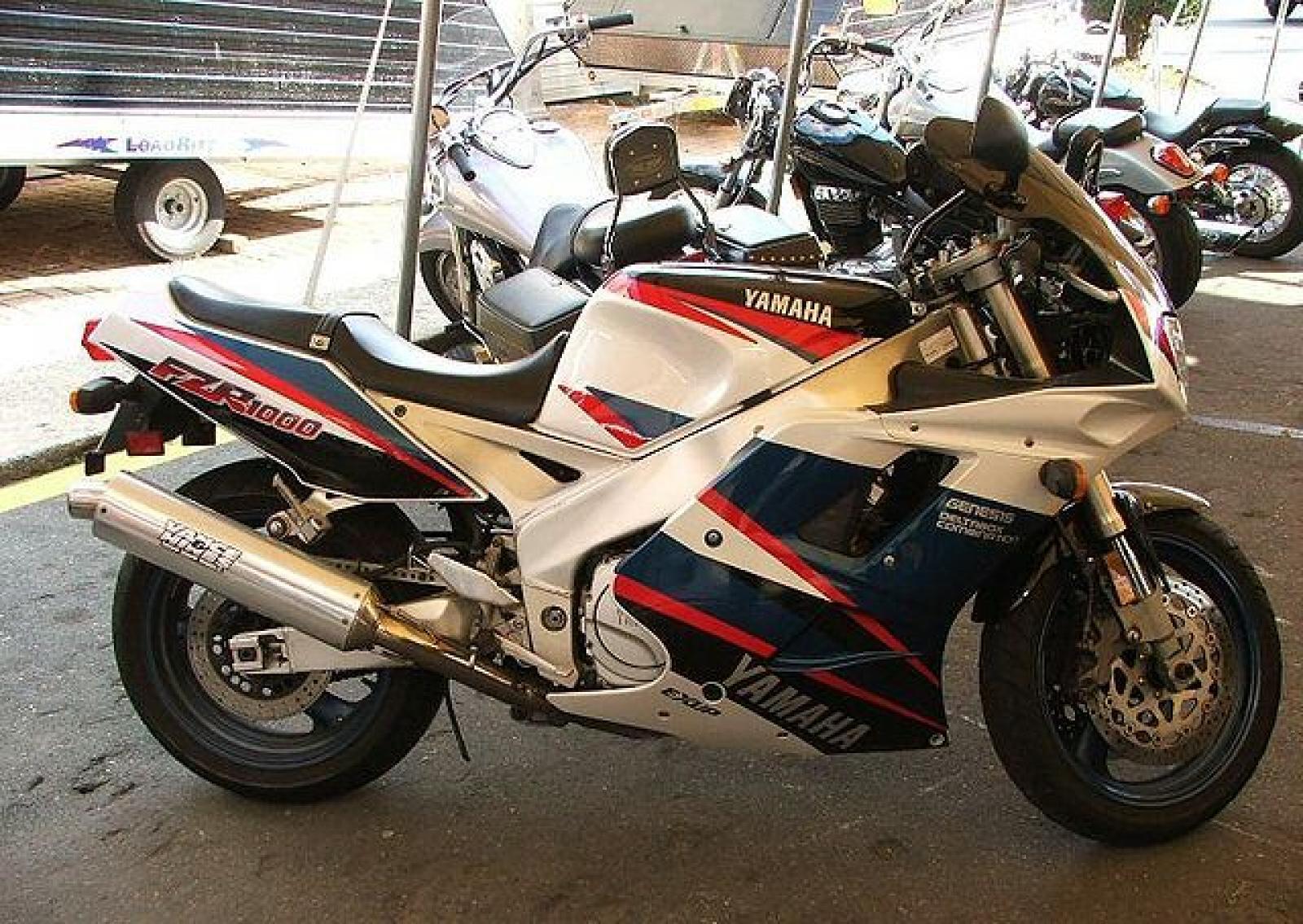 1989 Twin Headlight EXUP Yamaha FZR 1000 R 3LG1 - Front Brake Le 1000 CC