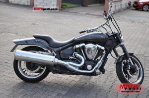 2003 Yamaha XV 1700 Warrior  MotoZombDriveCOM