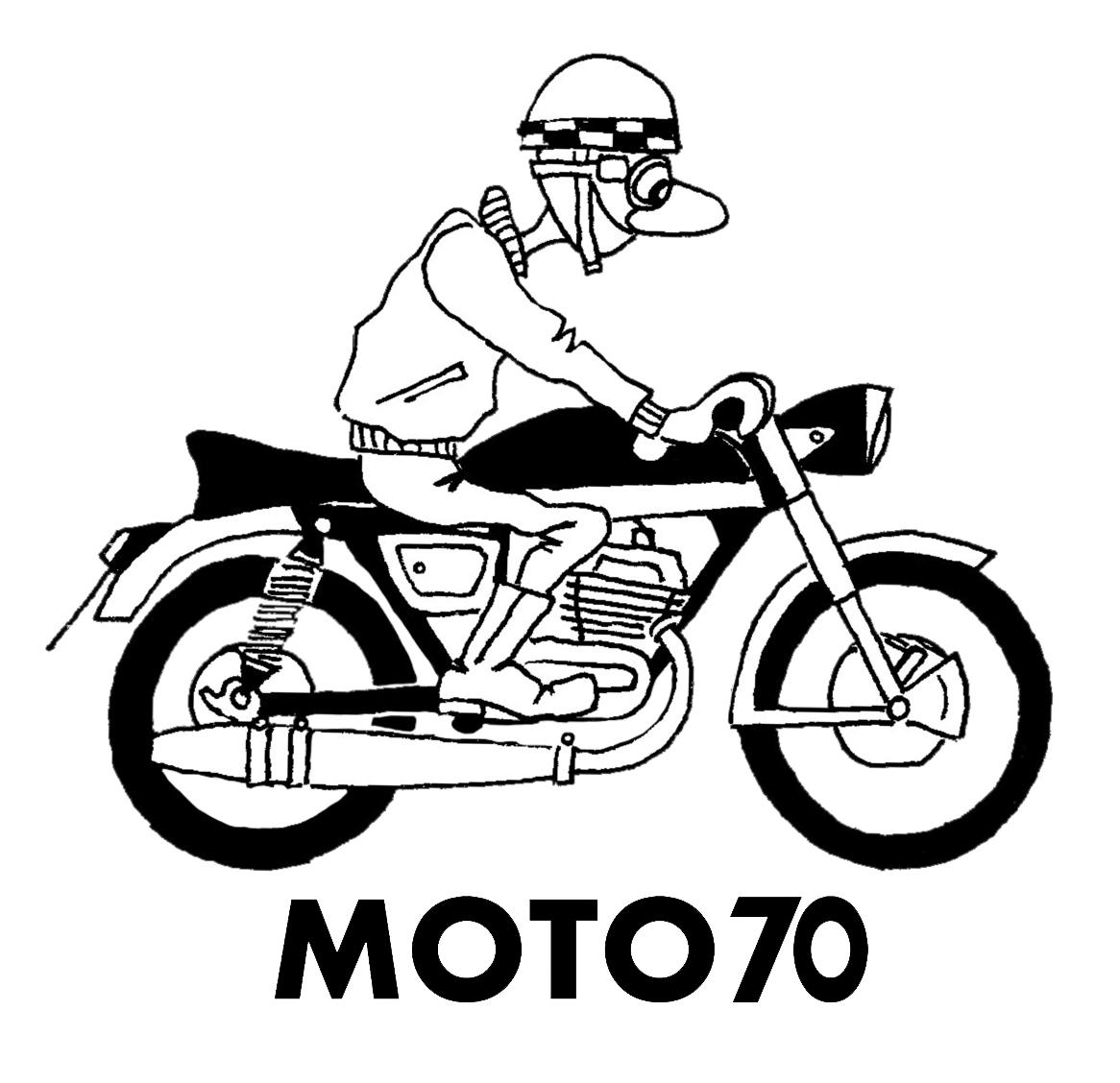 Logo Moto 70