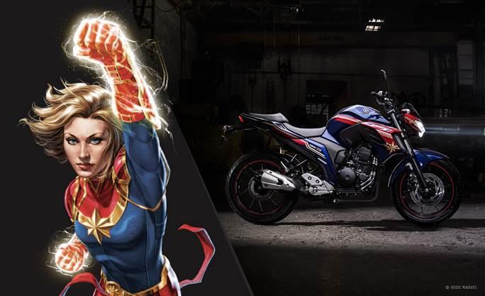 yamaha-fazer-250-capitã-marvel-moto-adventure