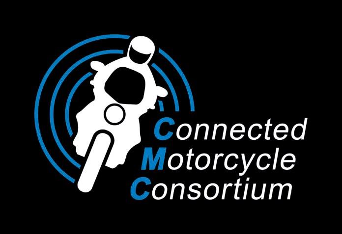 conectividade-duas-rodas-sistema-DMC-dynamic-mesh-communication-CMC-connected-motorcycle-consortium