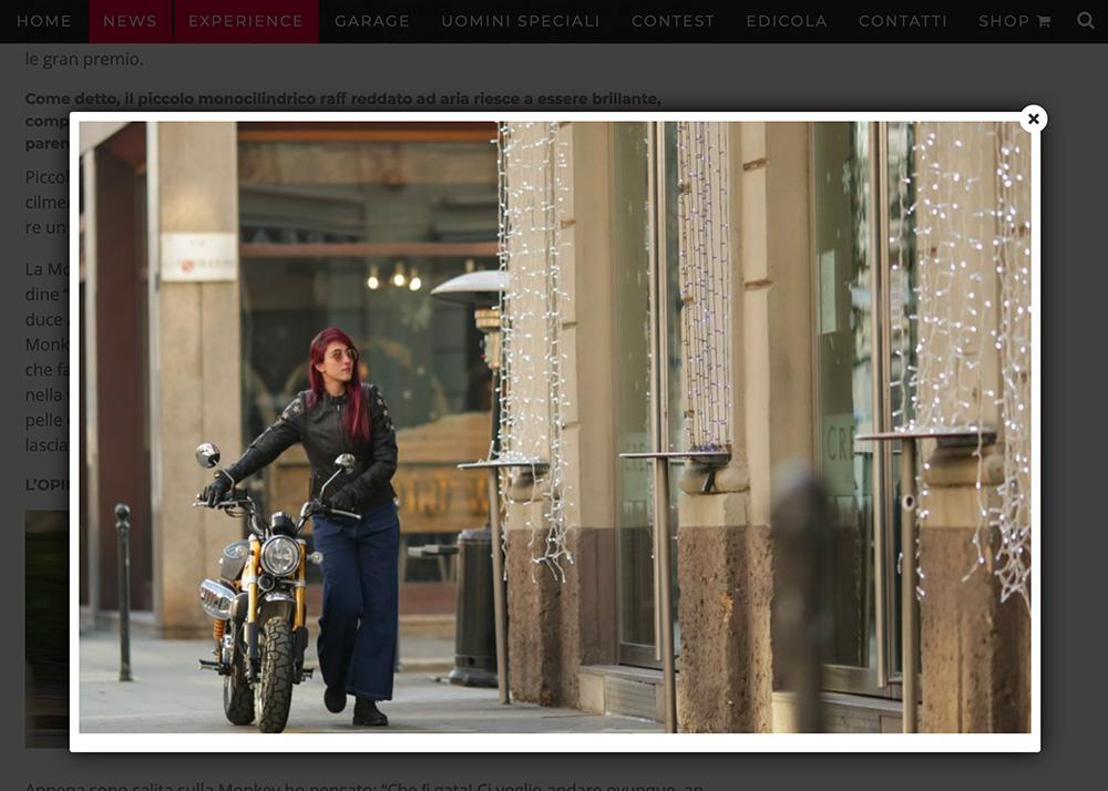official website Ferro Magazine moto Garage