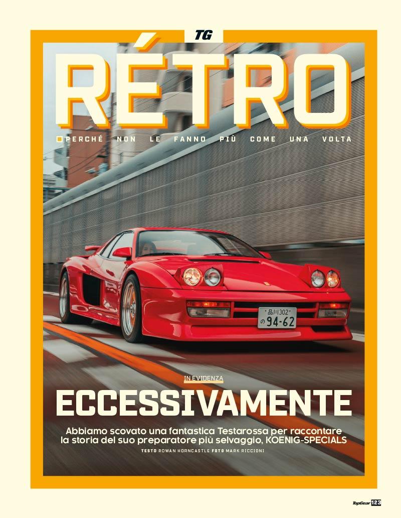 TopGear Italia magazine Ferrari