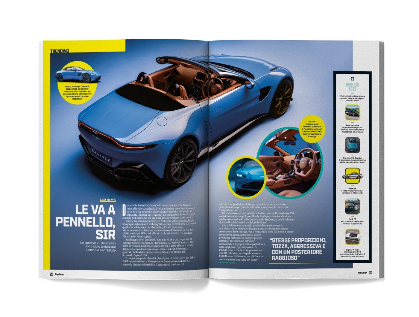 pagine rivista TopGear Italia
