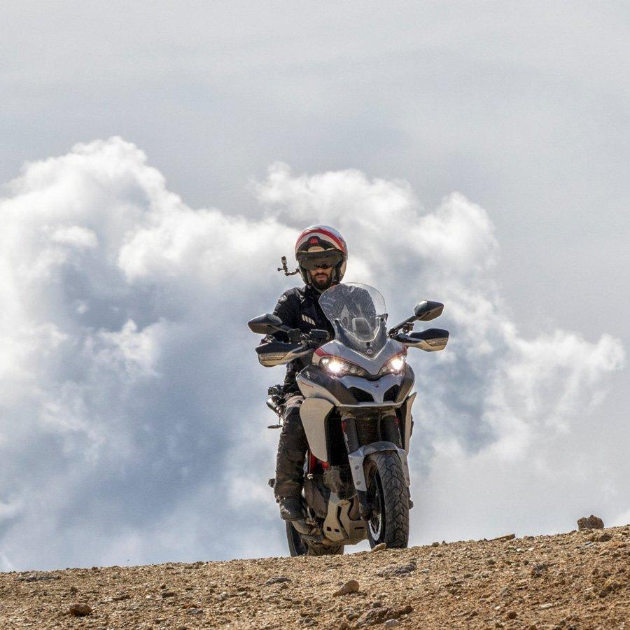 Marco Manzoni su Ducati Val di Susa