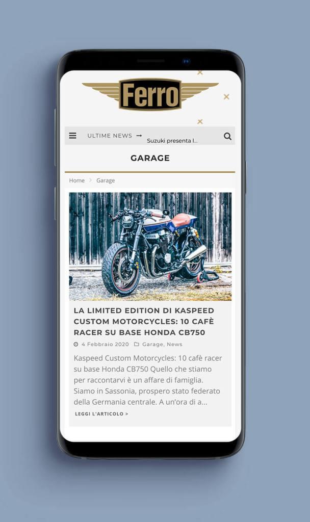 ferro magazine mobile