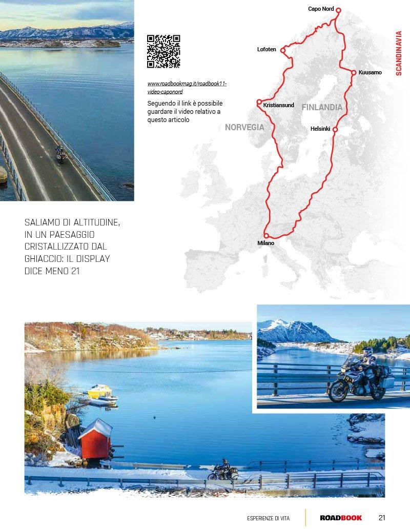 viaggio in moto a Capo Nord