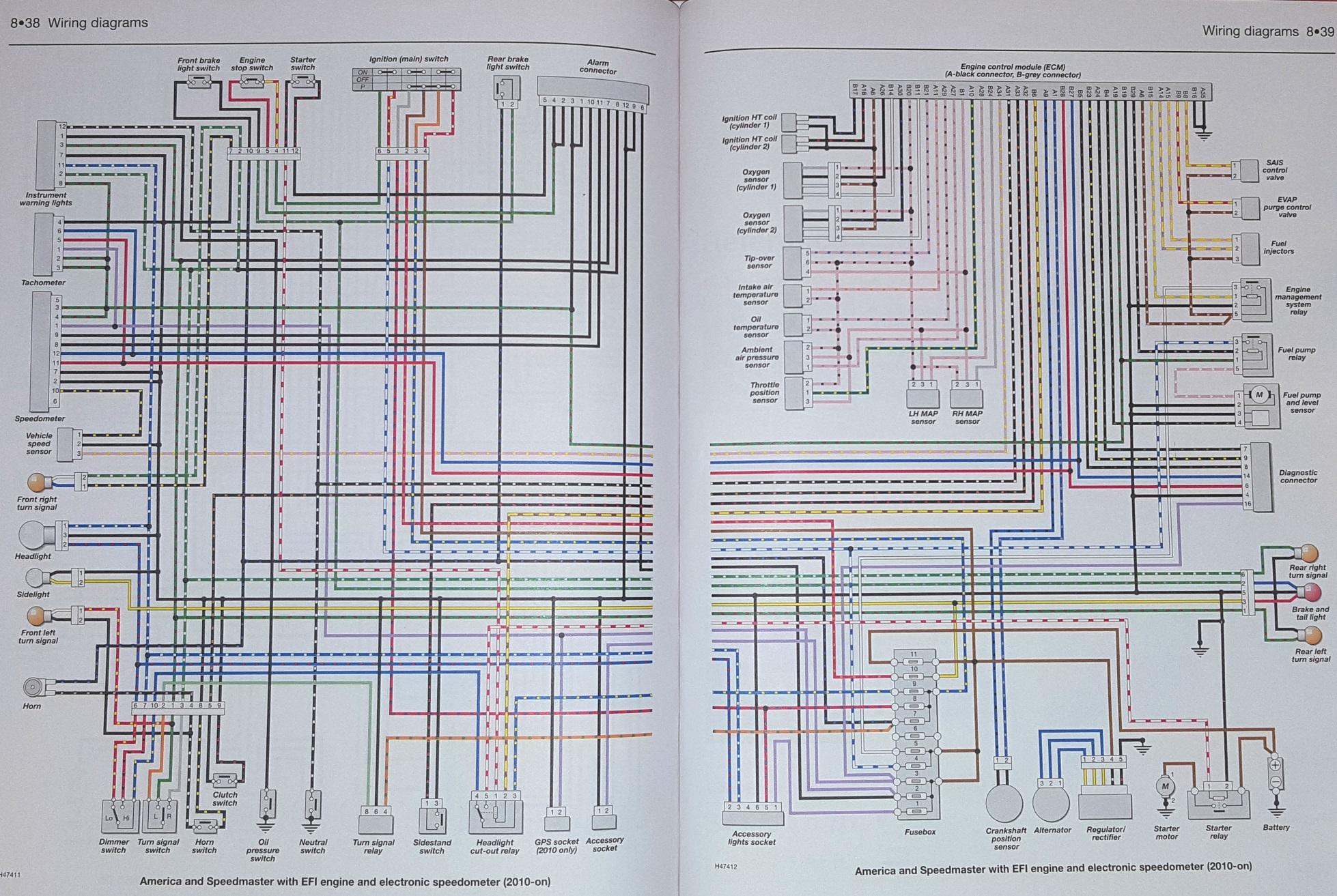 triumph wiring diagram mk3 golf daytona 955i t595