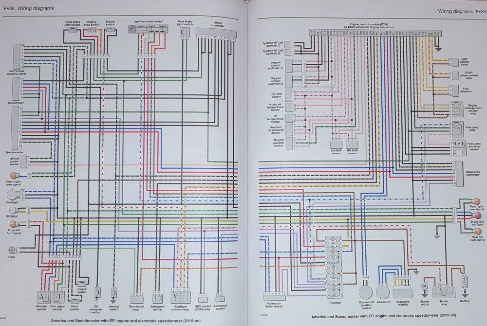 medium resolution of triumph 350 wiring diagram
