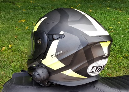 Scorpion Exo-AT950 Helmet Back MotoADVR