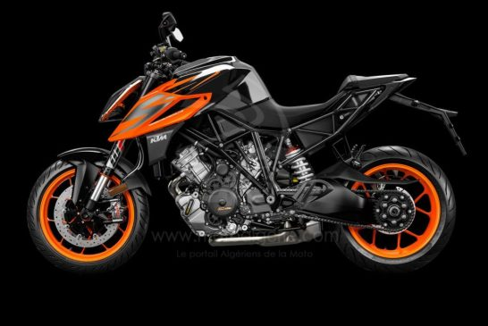 245746_1290 SuperDuke R MY19 Black-Orange 90-Left
