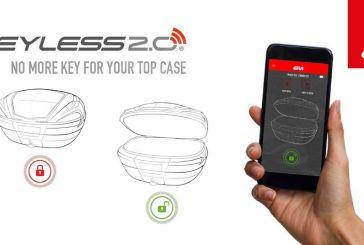 GIVI lance la nouvelle technologie KeyLess 2.0 pour ses Top-Cases
