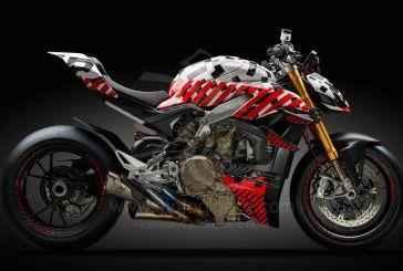 Ducati teste le Prototype Streetfighter V4 aux Broadmoor Pikes Peak