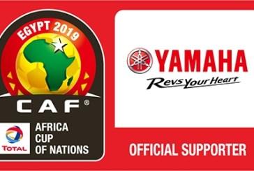YAMAHA sponsor officiel de la coupe d'Afrique des Nations