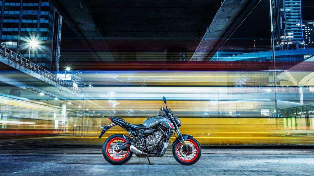 Yamaha dévoile la nouvelle génération de la MT-07 2021 !