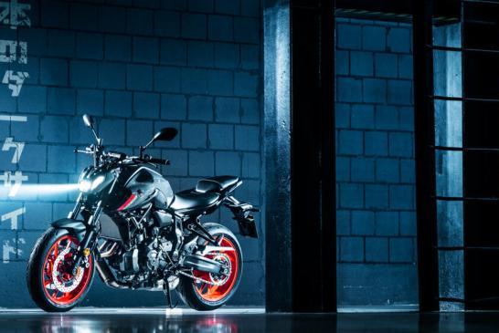 Yamaha MT-07 2021 a 2