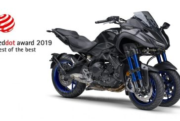Yamaha NIKEN remporte le prix «Best of the Best» du célèbre Red Dot Design Award 2019
