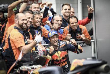 MotoGP : Des qualifications historiques pour KTM à Brno