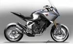 Honda présente le Concept CB4X à Milan