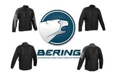 BERING WINNIPEG : La nouvelle veste Touring à fermeture aimantée « Magnetozip »